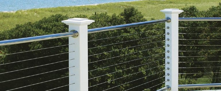 cable railing project by railing contractor chicago