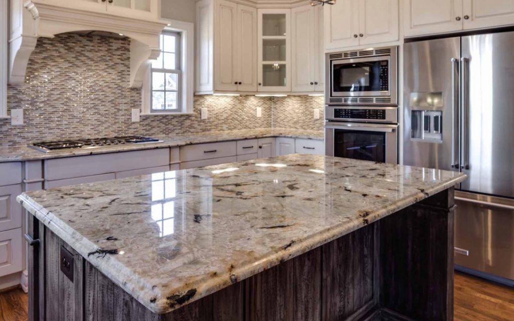 countertops completed by granitepol